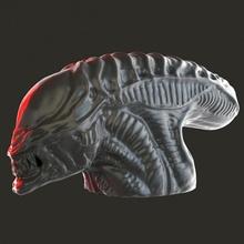 alieno testa fan arte alieno fallimento viso testa predatore alieni