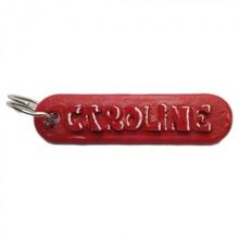 caroline personalizado chaveiro gravado cartas chaveiro Customizável personalizado llaveros nomes caroline personalizado nombres