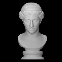 artemide ariccia genere qualità scansione fallimento dea greco testa ritratto scultura donna marmo copia artemide Adriano ariccia