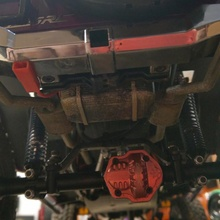 cross rc su4c fuel tank + twin exhaust rc cars accessories cross scale rc addon crawler scx10 redcat 1 10 1 10 trx4 gen8 bcrc su4c crossrc crossrcus
