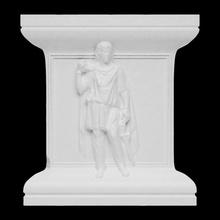 sollievo hadrianeum scansione uomo Roma grande sollievo in piedi mantello bagni