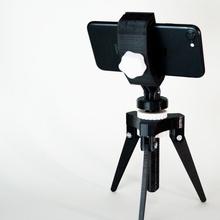 adjustable iphone tripod adjustable iphone gadget  screw support tripod video pla foto