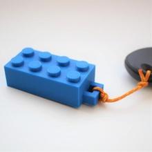 Lego chave anel moda acessórios chave fácil chaveiro chaveiro Lego tijolo