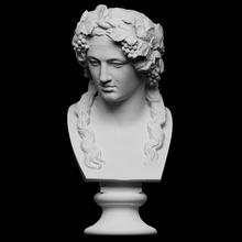 cabeça Baco Varredura fracasso cara Deus cabeça retrato mármore Suécia Baco Dionísio openglam artec eva Museu Nacional