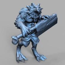 atroce remake- ragnarok online tabletop animal beast dog dragons dungeons games monster online sculpture wolf  d&d wolves dnd  canine ragnarok mmorpg ragnarokonline atroce