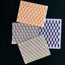 Schablone eiförmig Spielzeuge Spiele Kunst Kunst Oval Malerei Schablone Papercraft