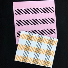 Schablone Plaid Spielzeuge Spiele Kunst Kunst Malerei Schablone Papercraft Plaid