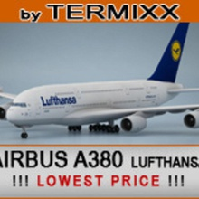 airbus a380 lufthansa 200 300 330  a330 a380 air airbus aircraft airline airplane airways civilian commercial fly france jet lufthansa model plane termixx