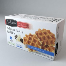belgian pastry waffles belgian box consumer container design food grocery health househo julians kitchen market model organic packaging pastry store supermarket tradecraft waffle