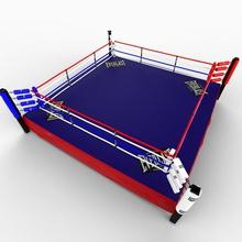 boxingring 3d 3ds arenas box il boxer boxingring c4d attrezzature everlast in tribuna lwo max maya la mgm modello obj perspectx piattaforma anello sport xsi