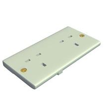 bs 1363 female wall socket v4 bs 1363 wall socket female electronics printable lowpoly
