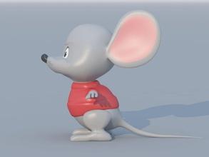 cartoon mouse animal big cartoon character creatur cute doll dragman fun funny model mouse puppet sweet toy