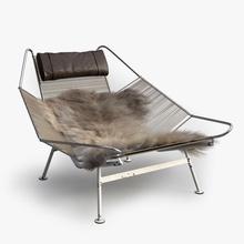 flag halyard chair pp 225 225 bbb3viz benoit bertrand chair danish flag fur furnishings furniture halyard hans leather lounge lounger mobler model pp pp225 string wegner