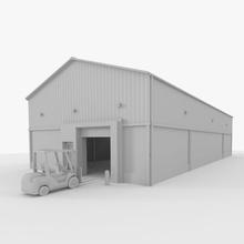 forklift warehouse architecture assets building forklift forklift warehouse heavy industrial lift load model mrbrightside13 original set storage structure truck vehicle warehouse work
