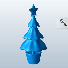 funky looking christmas tree v1 funky looking christmas tree seasonal printable lowpoly