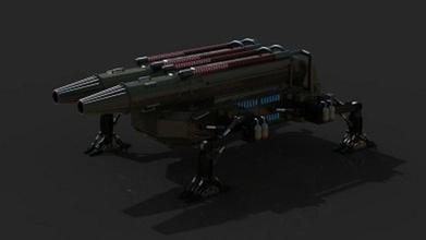 fütüristik topçu topçu chanur86 gelecek fütüristik makine askeri robot tank araç savaş silah