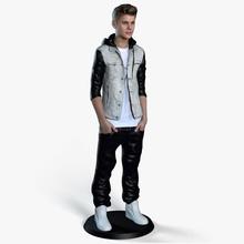 justin bieber 3d print 3d bieber character guys human jonun justin male man model person printable prints vip