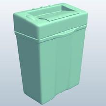 paper shredder v1 carta shredder office materiali di consumo stampabile lowpoly forniture per ufficio