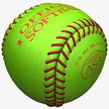softball 3d molier 3ds american asa ballpark balls bat diamond equipment field game gear hobbies max model outfield pitch pitcher softball sport vray