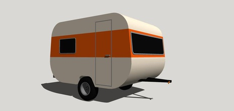 rimorchio di viaggio camp auto caravana casa casa marianorotth modello autocaravan rodante trailer di viaggio il veicolo la ruota