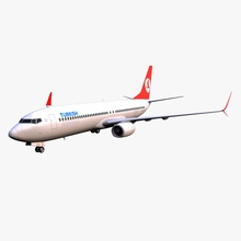 turkish airlines boeing 737 800 3degestar 737 800 air aircraft airline airplane airways alliance boeing commercial gear jet land model plane star thy transport turkey turkish