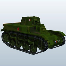 wwii tank france amr 35 v1 wii tank france amr 35 weapons  armor wwii printable lowpoly weapons armor