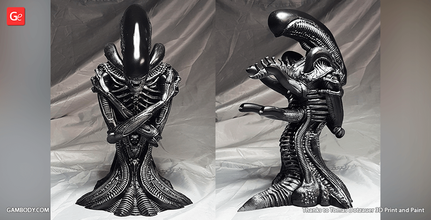 alien xenomorph bust 3d printing figurine assembly alien, xenomorph, bust, giger, covenant, prometheus, scifi, ellen ripley, queen, extraterrestrial, facehugger, ovomorph, the perfect organism, predator, yautja, USCSS nostromo, chestburster, drone, horror, evil, villain, monster, alien xenomorph figure, alien xenomorph figurine, alien xenomorph model, alien xenomorph miniature, 3d printing, stl files, villains, busts