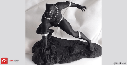 black panther 3d printing miniature assembly black panther, black panther 3d miniature, black panther 3d, black panther 3d model, black panther 3d download, black panther figure, black panther model, black panther marvel, marvel, marvel comics, revengers, marvel hero, marvel movie, new movie black panther, avengers, comics