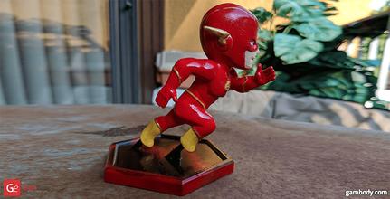 chibi flash 3d printing miniature static flash, flash 3d miniature, flash 3d, flash dc, dc, dc comics, league of justice, dc hero, dc movie, flash 3d model, flash 3d download, flash 3D figure, defender of central city, central city, chibi flash, chibi, comics