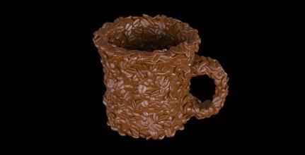 coffee bean mug 3d coffee mug for sale, buy 3d coffee mug, order 3d coffee mug, 3d model of coffee mug, 3d file of coffee mug, popular 3d model of coffee mug