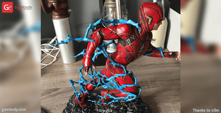 flash 3d printing miniature assembly flash, flash 3d miniature, flash 3d, flash dc, dc, dc comics, league of justice, dc hero, dc movie, flash 3d model, flash 3d download, flash 3D figure, defender of central city, central city, batman, new movie, comics