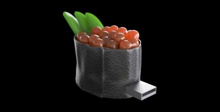 flash memory stick sushi ikura case 3d flash memory stick case for sale, buy 3d flash memory stick case, order 3d flash memory stick case, purchase 3d flash memory stick case, 3d model of flash memory stick case, 3d file of flash memory stick case