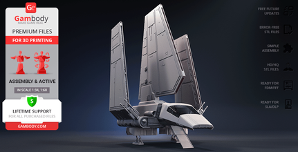 imperial shuttle 3d printing model assembly + action imperial shuttle, lambda-class shuttle, star wars, sw, darth vader, lambda-class t-4a shuttle, space ship, st 321, imperial navy, tydirium, starship, shuttle, sci-fi, space, vehicles, spaceship, ship, spacecraft, vessel, ships, imperial shuttle model, imperial shuttle figure, imperial shuttle figurine, imperial shuttle miniature, lambda-class shuttle model, lambda-class shuttle figure, lambda-class shuttle figurine, lambda-class shuttle miniature, 3d printing, stl files