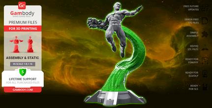 john green lantern 3d printing figurine assembly john stewart, hal jordan, dc, dc comics, comics, will, african-american, willpower, green lantern, power ring, katma tui, green lantern corps, justice league, architect, marine, parallax, john stewart figure, john stewart figurine, john stewart model, john stewart miniature, green lantern figure, green lantern figurine, green lantern model, green lantern miniature, 3d printing, stl files, hero, superhero