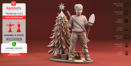 kevin 3d printing figurine assembly home alone, kevin, kevin mccallister, mccallister, christmas, christmas tree, movie film, christmas movie, christmas eve, wet bandits, assembly, sticky bandits, home alone 2, kevin figure, kevin figurine, kevin model, kevin miniature, kevin mccallister figure, kevin mccallister figurine, kevin mccallister model, kevin mccallister miniature, home alone figure, home alone figurine, home alone model, home alone miniature, 3d printing, stl files