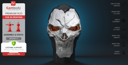 mask death 3d printing cosplay stuff static death, mask, mask of death, dust, darksiders, darksider, horseman, nephilim, abasalom, apocalypse, despair, abominations, angels, demons, human, lilith, death figurine, death figure, death miniature, death model, 3d printing, stl files