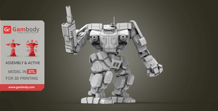 mwo awesome 3d printing files assembly + action 3d mechwarrior, mechwarrior for 3d printing, 3d mechwarrior for sale,  buy 3d mechwarrior, order 3d mechwarrior 3d files, MWO, battletech, mechs mwo online archer, mwo awesome release, awesome mech mwo, awesome mwo, awesome mwo review, robot, robots