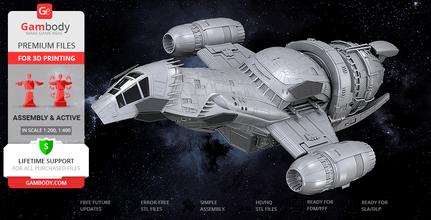 la serenità di stampa 3d modello serenità, firefly, serie tv, serie sci-fi, spazio, vfx, joss whedon, malcolm reynolds, serenità valle, unificazione, guerra, zoë alleyne, serenità modello, serenità figura, la serenità di figurine, la serenità in miniatura, la stampa 3d, file stl, veicoli, astronave, nave, nave spaziale, nave, navi
