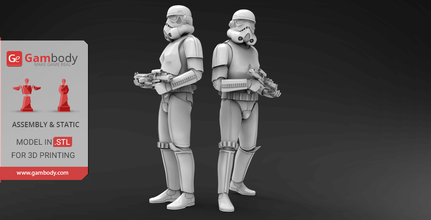 stormtroopers 3d printing miniatures assembly star wars, star wars 8, star wars episode 8, new star wars, star wars stormtroopers, star wars episode VII, star wars characters, star wars games, new star wars movie, star wars movies, new star wars, stormtrooper, stormtroopers, stl, stl files, 3d printing, files for 3d printing, model, 3d model, 3d printing miniature
