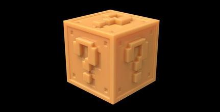 super mario mystery block 3d super mario block for sale, buy 3d super mario block, order 3d super mario block, 3d model of super mario block, 3d file of super mario block