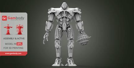 titan redeemer 3d printing model assembly+action titan, titan redeemer, jaeger, pacific rim, robot, kaiju, world war, new movie, titan redeemer figure, titan redeemer model, titan redeemer miniature, 3d printing, stl files, model for 3d printing, pacificrim, robot, robots