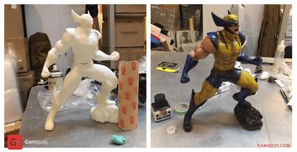 wolverine 3d printing figurine assembly wolvernine 3d model, wolverine 3d model download, wolverine x-men download, buy wolverine x-men model, wolverine stl buy, marvel, marvel 3d model, marvel model, x-men movie, x-men, x-man, marvel, comics, hero, wolverine, mutant, wolverine figure, wolverine figurine, wolverine model, wolverine miniature, 3d printing, stl files, marvel, logan, james howlett, weapon x, experiment, xmens, xmen