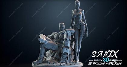 Mito3d Lady Deadpool 3d Print Models