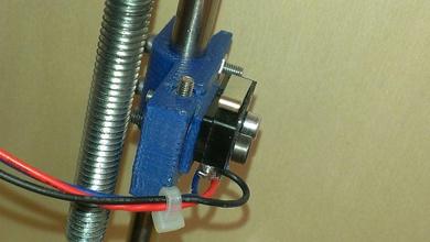 adjustable mechanical endstop prusa mendel i2 pinshape endstop prusa mendel i2 prusa mendel mechanical endstop adjustable endstop