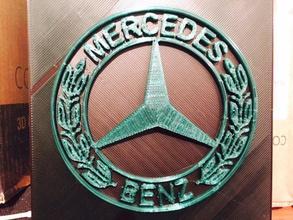 mercedes benz logo 3d pinshape logo mercedes benz mercedes benz