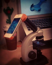 microscope eyepiece case iphone 4 pinshape microscope iphone