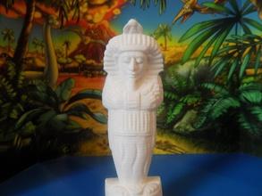 Firavun pinshape egytian taranmış karakter dekorasyon heykeltraşlık tarama heykel vücut insanlar minifigure minifig insan baş büstü şekil minyatür oyuncak karakterler heykelcik Mısır Heykeli adam Firavun heykelciği heykel