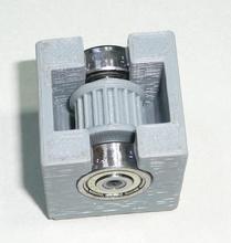 geoff's y-axis idler pulley & gear solidoodle2 - 3d prin pinshape 3d-design