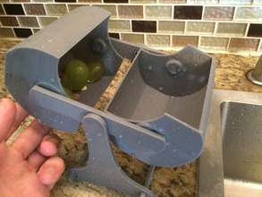 ferris-wheel fruit-washer ii pinshape 3d-design