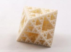 fractal octaèdres pinshape Conception 3d